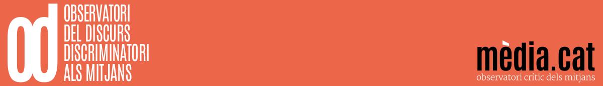 Observatori del Discurs Discriminatori als Mitjans logo