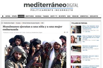 Mediterráneo Digital: Musulmanes ejecutan a una niña y a una mujer embarazada