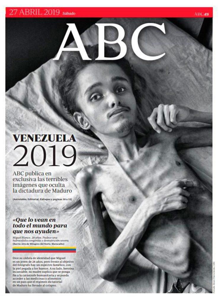 ABC: Venezuela 2019. ABC publica en exclusiva las terribles imágenes que oculta la dictadura de Maduro.