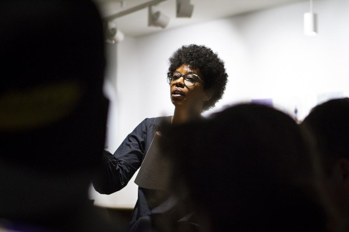 cte 'Periodisme a la sala de miralls', organitzat per l'Observatori d'Actualitat del Discurs Discriminatori als Mitjans a l'Espai Societat Oberta. Foto: Estefania Bedmar / GPRB.