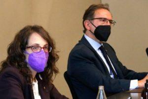 La consellera d'Igualtat i Feminismes, Tània Verge, ha instat l'Estat espanyol a considerar la violència vicaria com a violència de gènere. Foto: ACN.