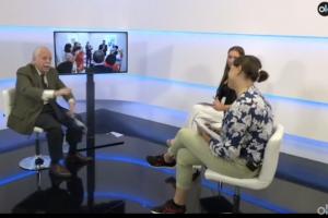 Fotograma de l'entrevista a Luis Navajas a 'OK Diario' el passat 20 de setembre.