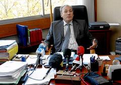 La fiscalia de Baiona va convoar una roda de premsa d'urgència. Foto: Gara