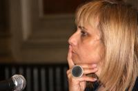 Mònica Terribas durant l'entrevista. Foto: directe!cat