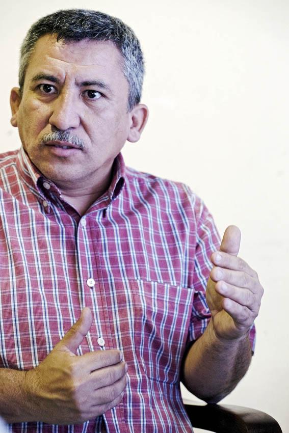 Bortolo Fuentes, periodista hondureny. Foto: Albert Garcia.