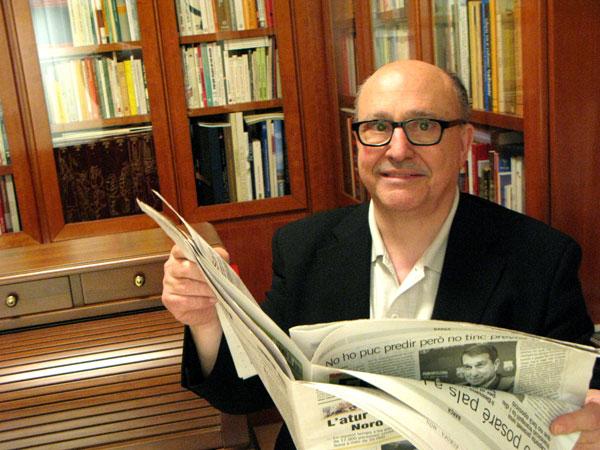 Estanis Alcover, expresident de l'ACPC.
