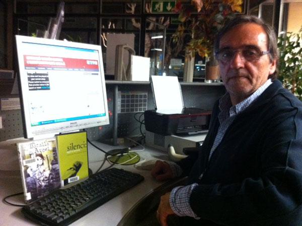 Carles Benítez, director del documental sobre l'Operació Garzón.