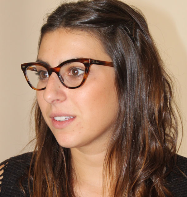 Victoria Anderica, investigadora legal i coordinadora de campanyes de Access-Info Europe.