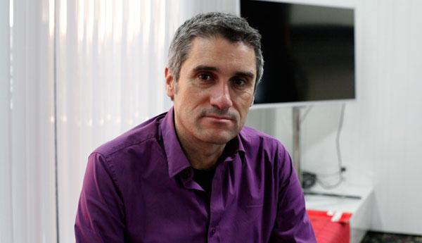 Joan Carles Peris, periodista de TV3.