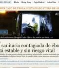 Ebola: es passen d'alarmistes els mitjans?