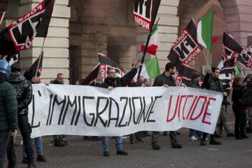 forza nuova immigració