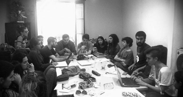 Consell de redacció de 'La Columna'. Foto: cedida.
