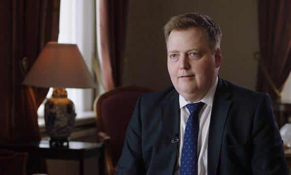 el primer ministre islandès