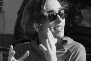 La realitzadora, productora i assagista cultural Íngrid Guardiola és la coordinadora del Miniput. Foto: cedida.
