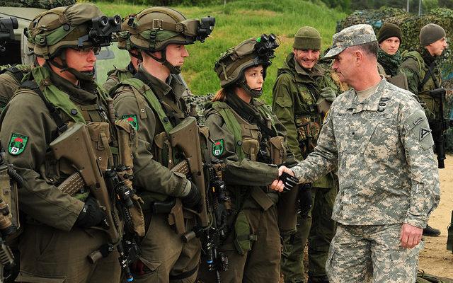 despesa militar Europa Trump