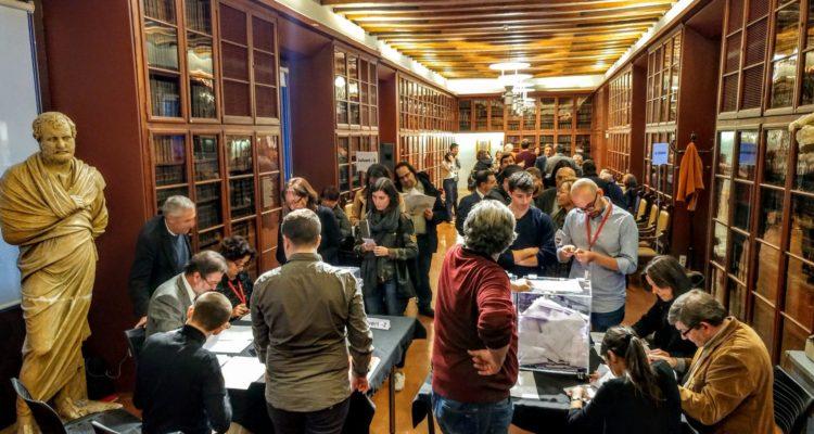 Les eleccions han tingut molta cobertura mediàtica. Foto: Ateneu Barcelonès