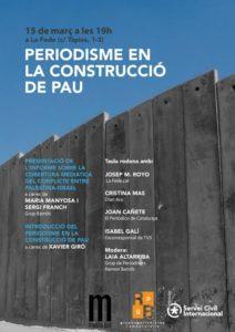 cobertura informe palestina israel