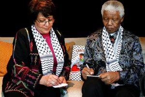 Leila Khaled i Nelson Mandela