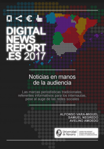 Digital News Report 2017 (Estat espanyol).