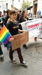 Dorian Royo rebutja una definició binària del seu gènere. Foto: cedida.