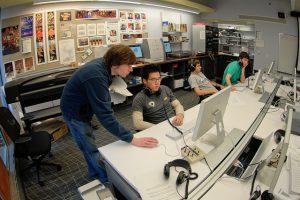 Laboratori de Mitjans Digitals a la Universitat de Pennsilvània. Foto: David Toccafondi.