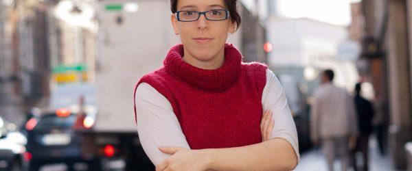 La periodista Mar Cabra. Foto: Antonio Delgado.