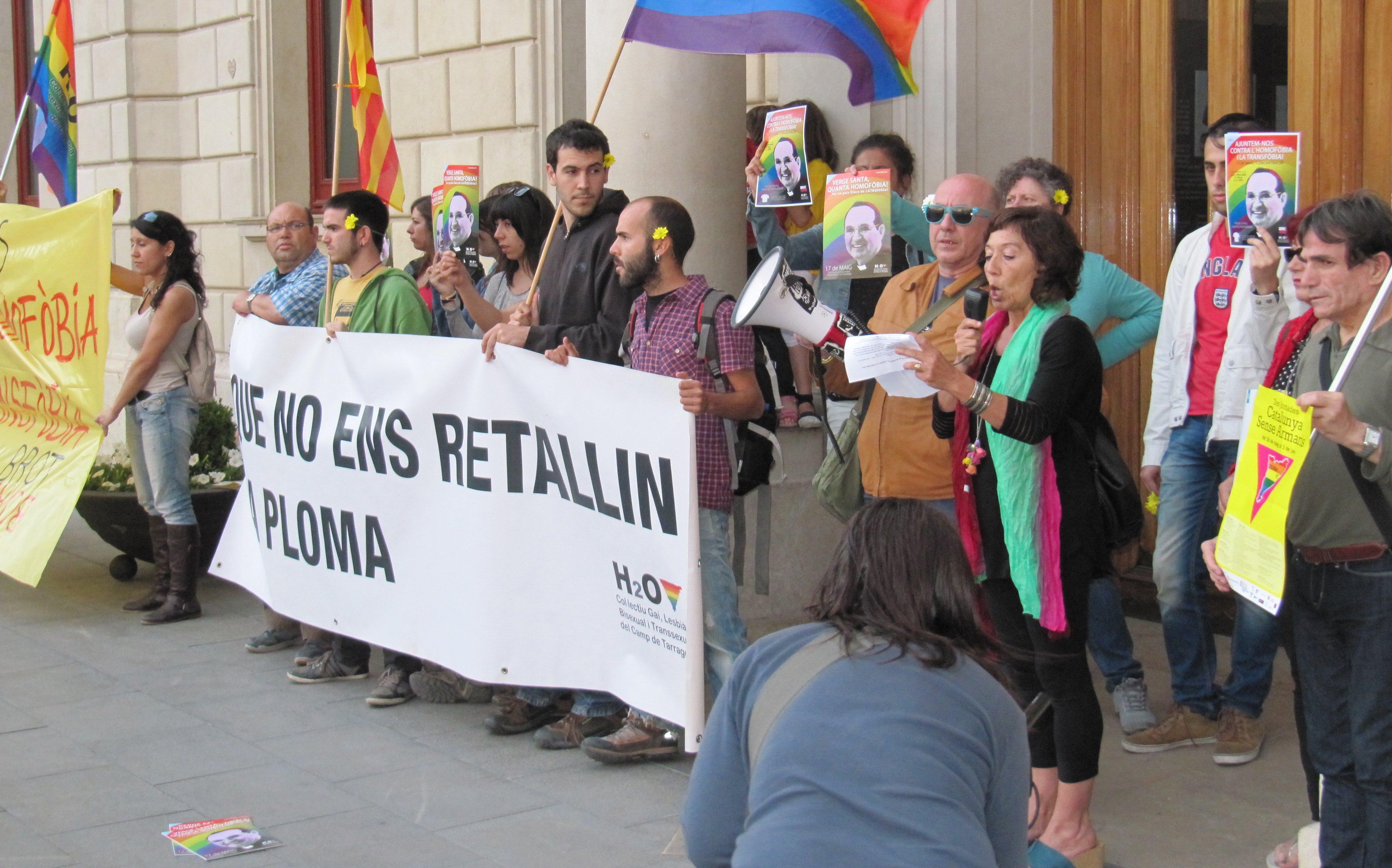 Manifestació a Reus. Foto: 'Colors del Territori'