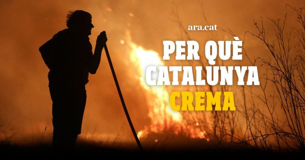 Especial interactiu sobre incendis al Diari Ara.