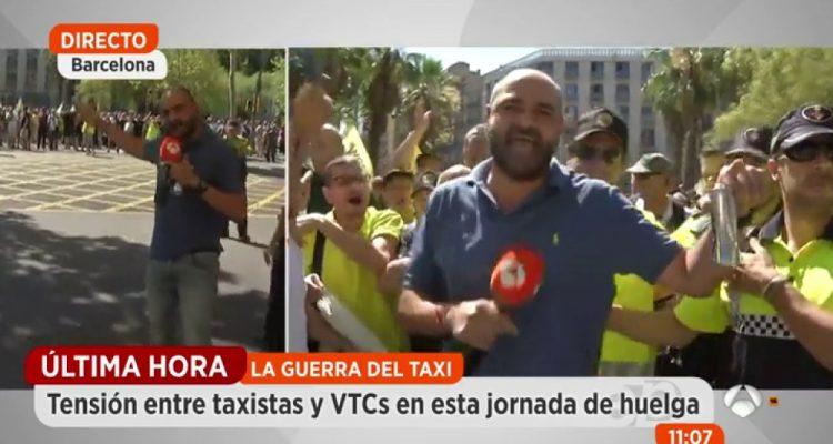 Taxistes tensió