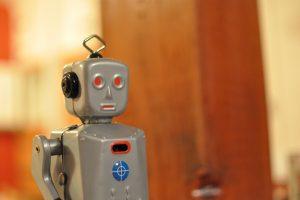 Robot. Foto: Amber Case (Flickr)