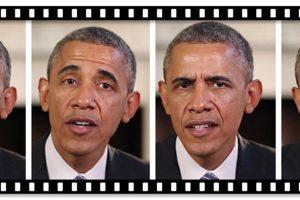 Obama parlant