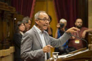 Joan Coscubiela al Parlament. Foto: Parlament de Catalunya