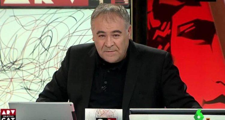 """Antonio García Ferreras és el presentador d'""""Al Rojo Vivo"""" a LaSexta. Imatge: Atresmedia."""