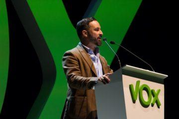 El líder de Vox, Santiago Abascal, en una fotografia d'arxiu. Foto: ACN.