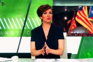 Cristina Villanueva, presentadora de La Sexta.
