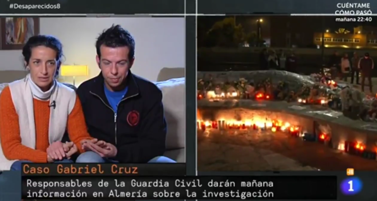 La mare del nen Gabriel intervé a televisió.