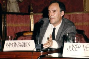 Ramon Barnils, l'any 1988. Foto: Viquipèdia.