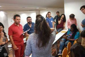 El juny passat, a Atenes, es va crear una xarxa europea de mitjans alternatius i cooperatius. Foto: Josep Comajoan / Setembre