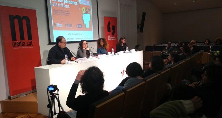 Preentació de l'Observatori del Discurs Discriminatori als Mitjans.