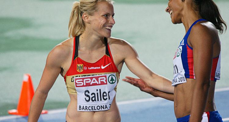 Final dels 100m femenina al Campionat Europeu d'Atletisme a Barcelona, 2010. Foto: JJ Vico Bretones (Flickr)
