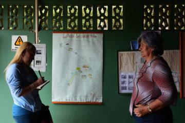 Entrevista presencial. Foto: Carito Gamboa.