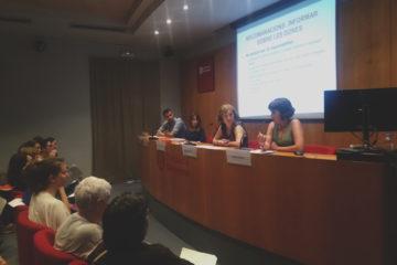 Presentació de les recomanacions sobre com tractar les agressions masclistes. Foto: Susana Pérez.