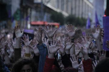 Concentració a Pamplona de rebuig a la sentència de La Manada: Foto: Txeng Meng (Flickr).
