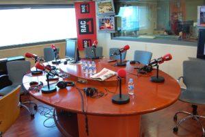 L'estudi 1 de RAC1, el juny de l'any 2009. Foto: Miquel C. / Wikimedia Commons
