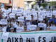 Concentració a la plaça Ricard Vinyes de Lleida en suport amb els joves d'Altsasu, el 16 de juny de 2018. Foto: ACN / Estela Busoms