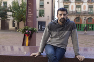 El fotoperiodista Jordi Borràs. Foto: Xavi Herrero / Crític