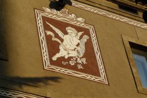 Detall de la Casa de la Maternitat de Lleida. Foto: Pere López / Wikimedia Commons.