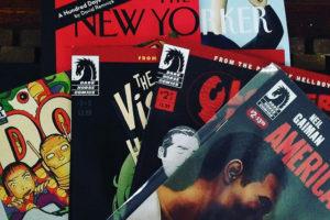 The New Yorker i altres revistes dels Estats Units d'Amèrica. Foto: Louise McLaren / Flickr.