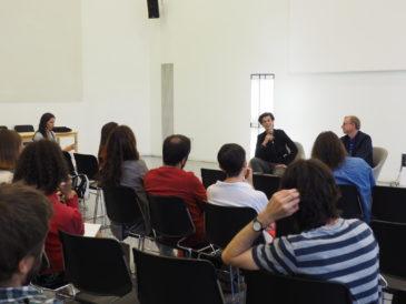 Seminari de Carolin Emcke a Barcelona. Foto: Laura L. David
