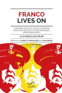 """Portada de """"Franco Lives On"""", editat per Saldonar i el Grup Barnils."""